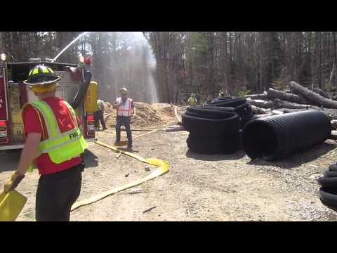 Part 2 - Rural Water Supply Drill - Chichester, New Hampshire - May 2015