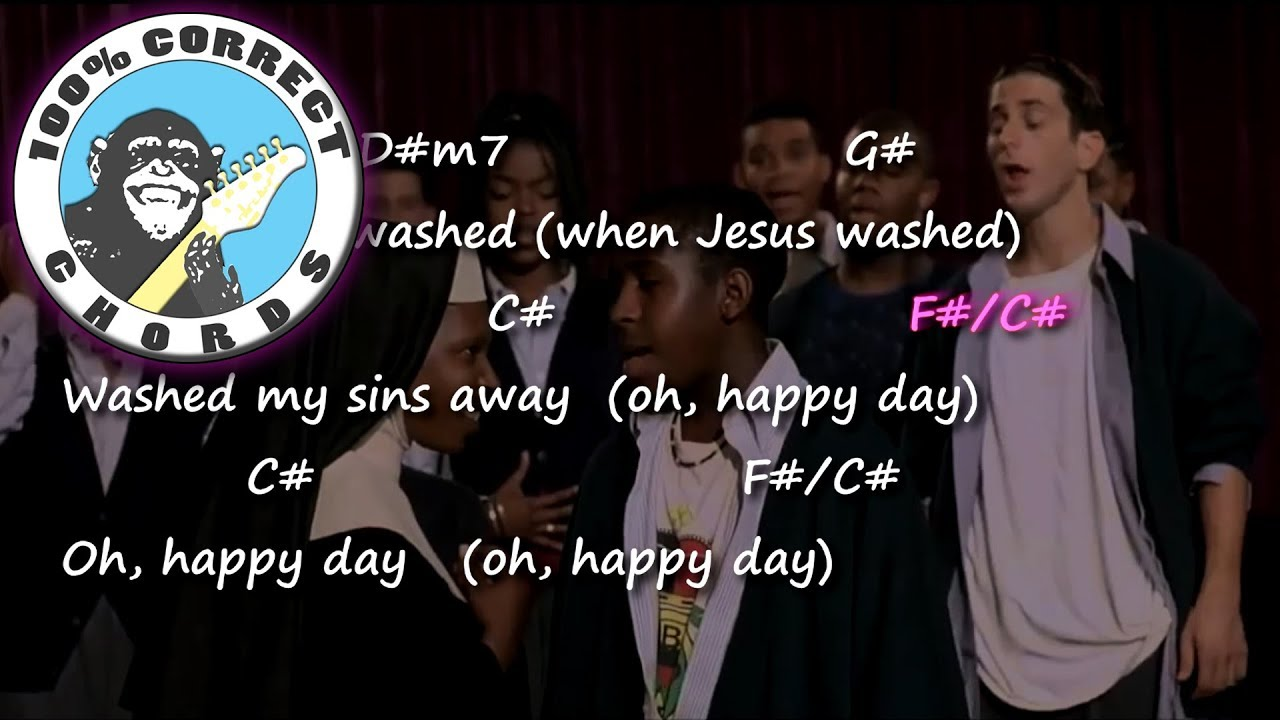 Oh Happy Day Chords Lyrics Youtube
