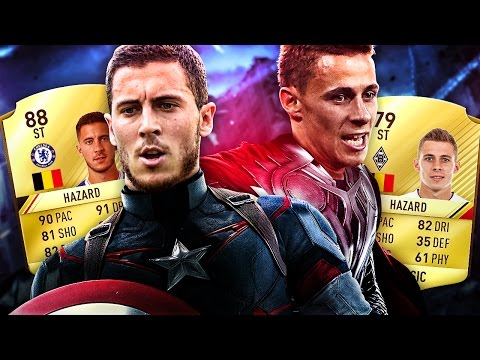 EDEN HAZARD VS THORGAN HAZARD THE BEST BELGIAN BEAST SQUAD IN FIFA! FIFA 17 ULTIMATE TEAM