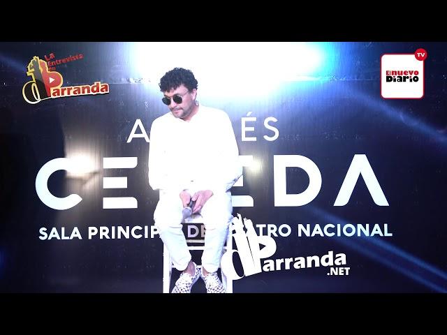 Andrés Cepeda defiende música urbana y letras del trap, habla de posible dueto con Vicente García