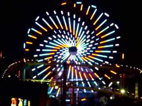 Santa Monica Pier - Ferris Wheel - YouTube