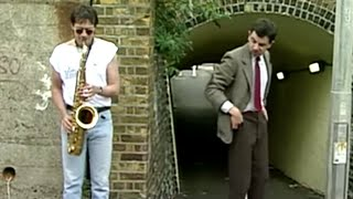 Saxophone Player | Mr. Bean Official