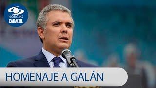 Gobierno rindió homenaje a Luis Carlos Galán tras 30 años de su magnicidio