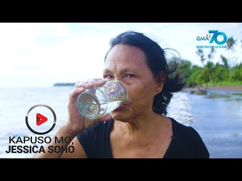 Kapuso Mo, Jessica Soho: Tubig dagat, lasang softdrinks?!