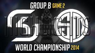 SK vs TSM Worlds Highlights Game 2 | LoL S4 World Championship 2014 SK Gaming vs TSM
