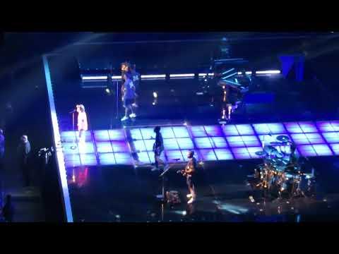 Opening Song - Bruno Mars Concert Live @ Houston Toyota Center 10/24/2017 Part 1