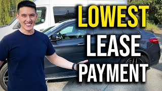 How to Negotiate The LOWEST Car Lease Payment (Step by Step)