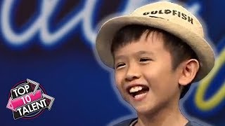 TOP 10 ADORABLE Kid Auditions On Idols Junior Around The World! thumbnail