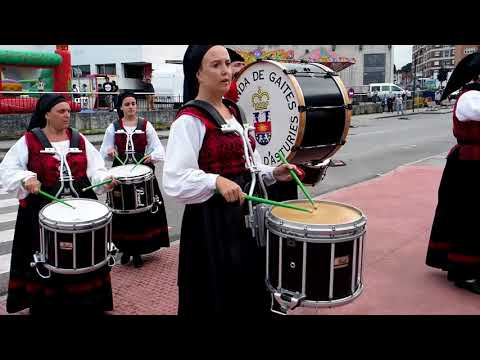 Banda de Gaites Corvera D' Asturies, las Vegas 2018
