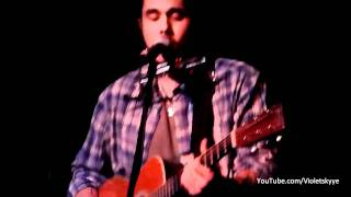 "John Mayer NEW SONG ""Whiskey Whiskey Whiskey"" Hotel Cafe, L.A."