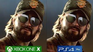 Far Cry 5 - PS4 Pro vs Xbox One X Graphics Comparison [4K/60fps]