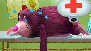 ДОКТОР КИД 8 Мультик игра лечу животных Маленьких питомцев и его друзей Пурумчата