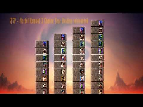Mortal Kombat 3 - Choose your destiny reinvented by SFSP