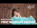 Posing a Young Girl in her First Modeling Session - Modeling Poses for Beginners