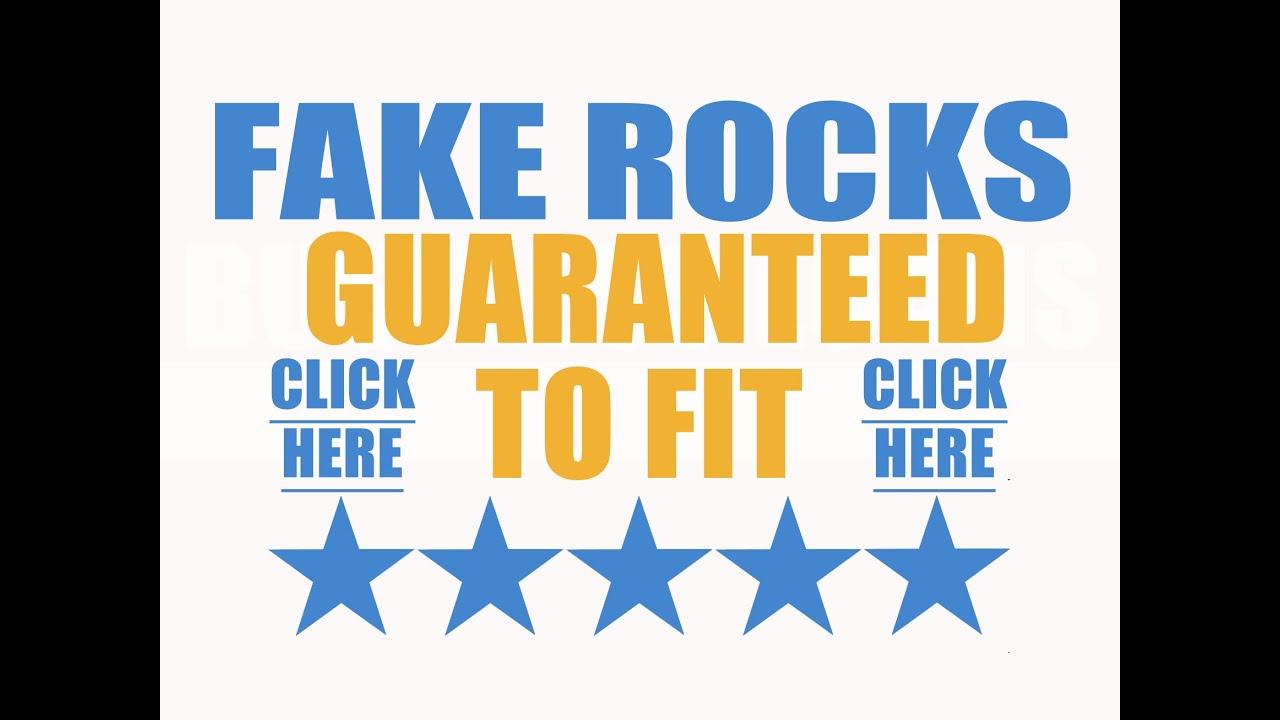 Buy Fake Rocks 2015 Best Fake Rocks For Landscaping YouTube