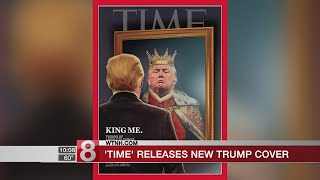 North Haven native artist on Trump 'Time' cover
