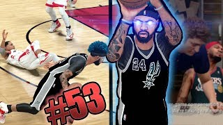 HE STARTED CRYING! Nasty Ankle Breaker on Lowry! Jordan Meeting! NBA 2k18 MyCAREER Ep. 53