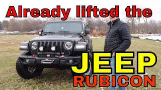 Already Lifted the Jeep