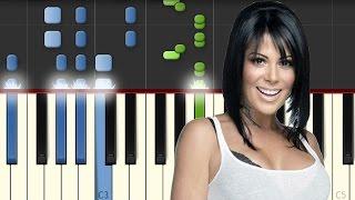 Yo Te Esperaba / Alejandra Guzman / Piano Tutorial / Synthesia / Midi & Notas Gratis