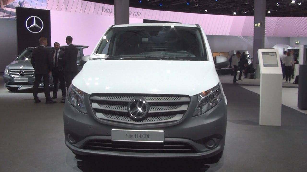 2ec0ea9238a6f6 Mercedes-Benz Vito 114 CDI Refrigerated Panel Van (2017) Exterior and  Interior in 3D