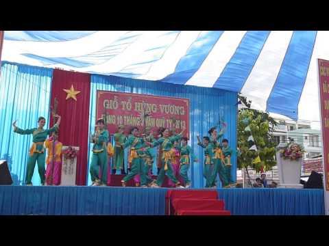 Hát múa Hào khí Việt Nam - Giỗ tổ Hùng Vương mùng 10 tháng 3 năm Quý Tỵ - Bến Tre