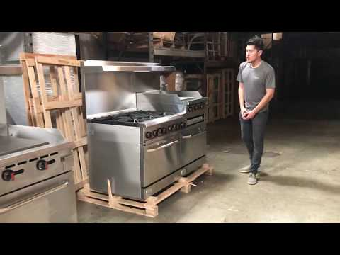 6b24gt American  Range  Ranges Burner Commercial Oven Ovens Propane LP Natural Gas