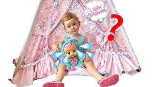 Полина и кукла CRY BABIES Magic Tears. История Дня Роджения Лалы.