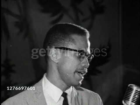 """Malcolm X - """"by any means necessary"""" 1964"""