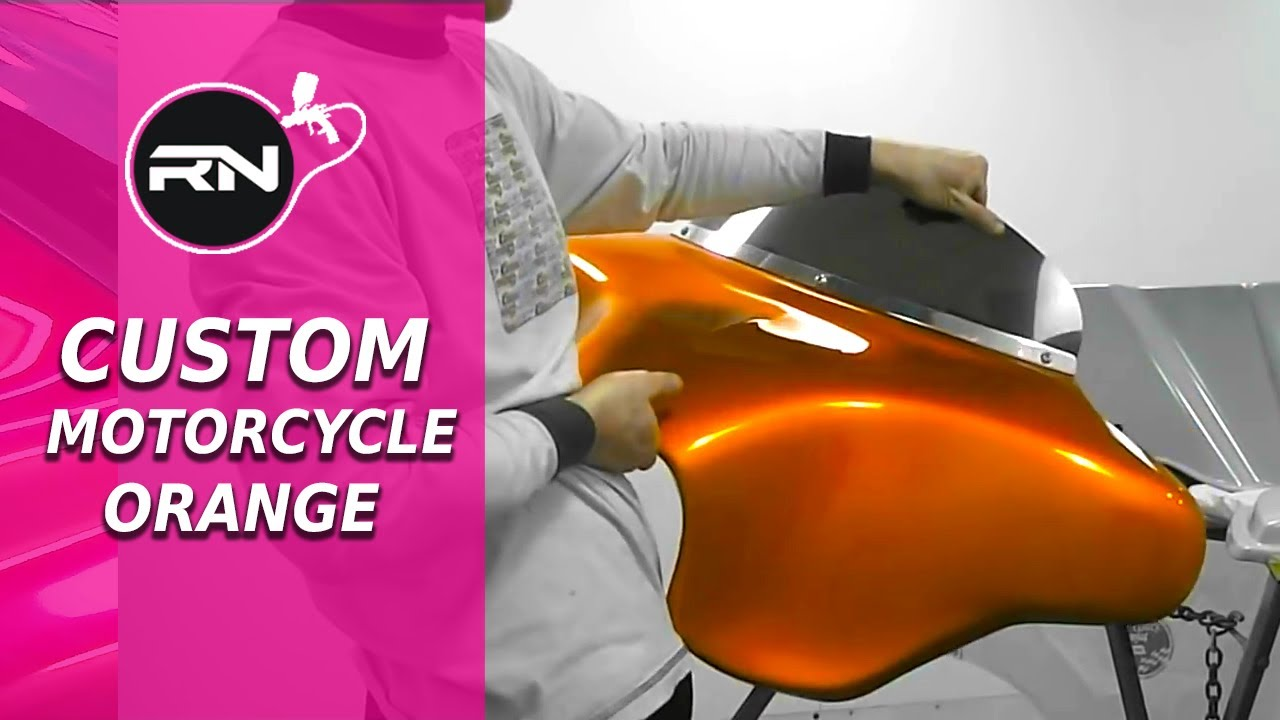Orange Paint Colors For Motorcycles