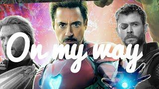 Tony Stark-On my way |#Endgame (Marvel)  | Alan Walker