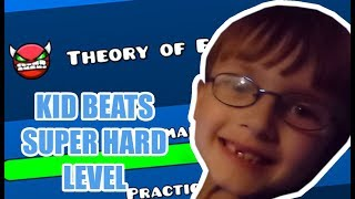 7 Year Old CRUSHES Theory of Everything 2 (Geometry Dash)