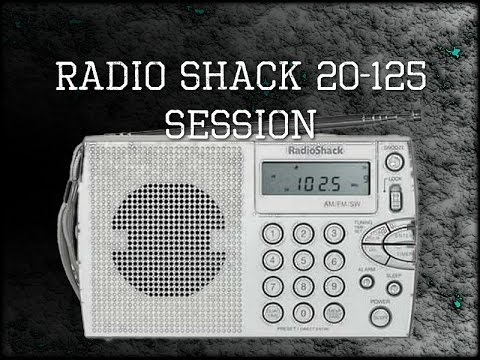 Hack shack 20-125 session - AM and then on FM