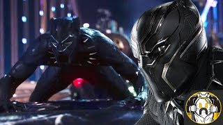 NEW BLACK PANTHER SUIT REVEALED!!