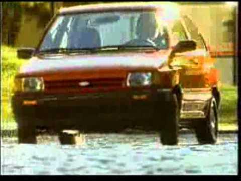 1988 Ford Festiva Commercial