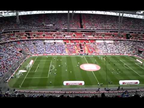 reading v swansea play off wembley block 528 row 44 youtube. Black Bedroom Furniture Sets. Home Design Ideas