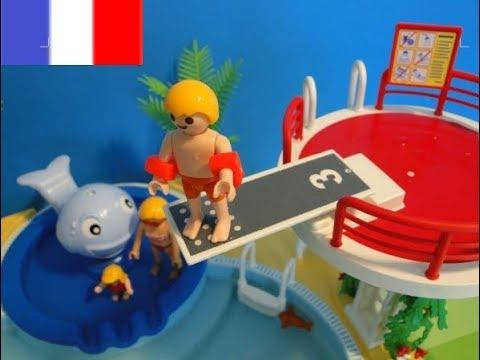 Playmobil Film Piscine Vacances Family FUN