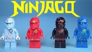 LEGO Ninjago NRG True Potential Ninjas Collection