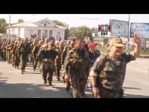 Cossacks are going to help the brothers in the Donbass!