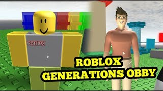 ROBLOX EVOLUTION | ROBLOX GENERATIONS OBBY