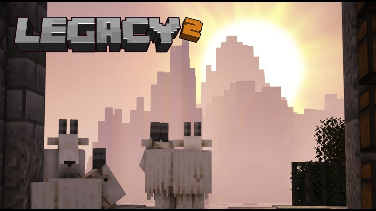 Legacy SMP Season 2: Episode 21 - Goats... 'nuff said.