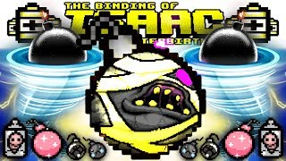 BOMB HURRICANE GAME BREAK (Sad Glitter Scatter MEGA Dr Fetus Bombs) | AFTERBIRTH PLUS Gameplay