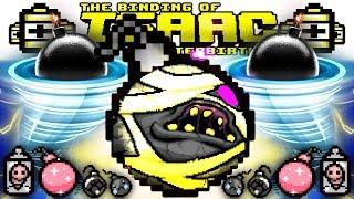BOMB HURRICANE GAME BREAK (Sad Glitter Scatter MEGA Dr Fetus Bombs)   AFTERBIRTH PLUS Gameplay