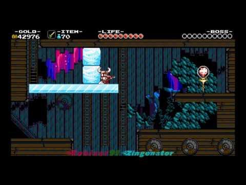 Shovel Knight Stranded Ship Polar Knight gameplay Part 12