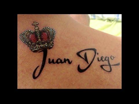 Tatuajes De Nombres Con Corona Ideas Para Tu Tatuaje Youtube