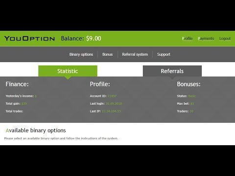 youoption.net Home Bass earning site .Payment method Paypal, Skrill,  btc , Payza , etc ... thumbnail