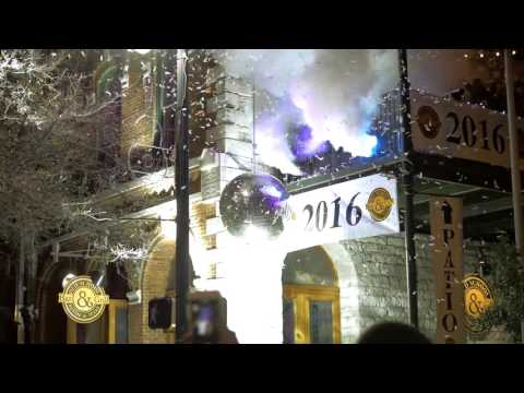 New Year's Day 2016 6th Street Austin Texas