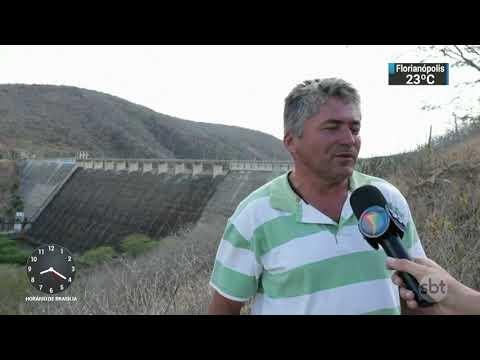 Barragem seca expõe drama da falta de chuva no agreste pernambucano | SBT Brasil (18/11/17)