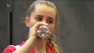Sophia Klee (Tischtennis Talent aus Hessen) im Porträt