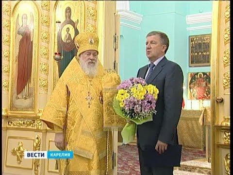 В Петрозаводске почтили память святого Александра Невского