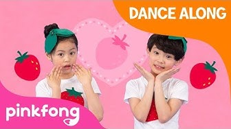 Berry Berry Strawberry Dance | Dance Along | Kids Dance | Pinkfong Dance for Children